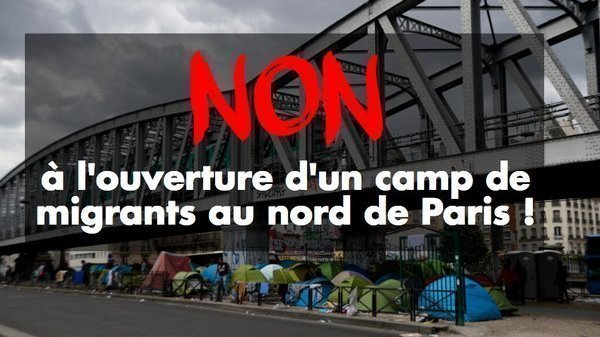 petition anne hidalgo dites non l 39 ouverture d 39 un camp de migrants au nord de paris. Black Bedroom Furniture Sets. Home Design Ideas