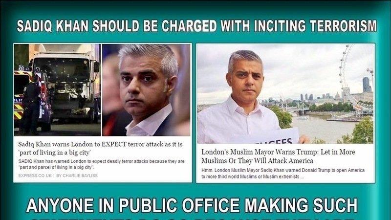 Image result for sadiq khan terror ties
