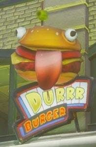 durr burger restaurant fortnite