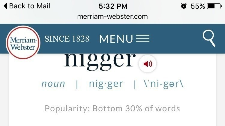 Petition merriam webster dictionary remove the word nigger out petition merriam webster dictionary remove the word nigger out of the dictionary change ccuart Images