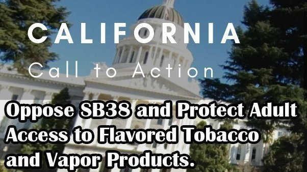 Petition · California State Senate: California Vaper's Opposition to