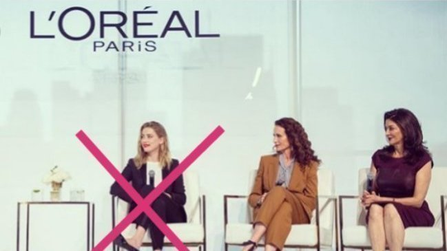 Petition update · People are taking notice.. So L'Oréal ...