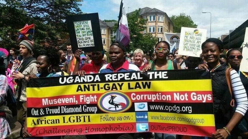 Uganda anti-homosexuality bill petition