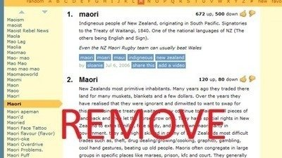 4a2ce59ed4 Petition · Remove the racist definitions of the word