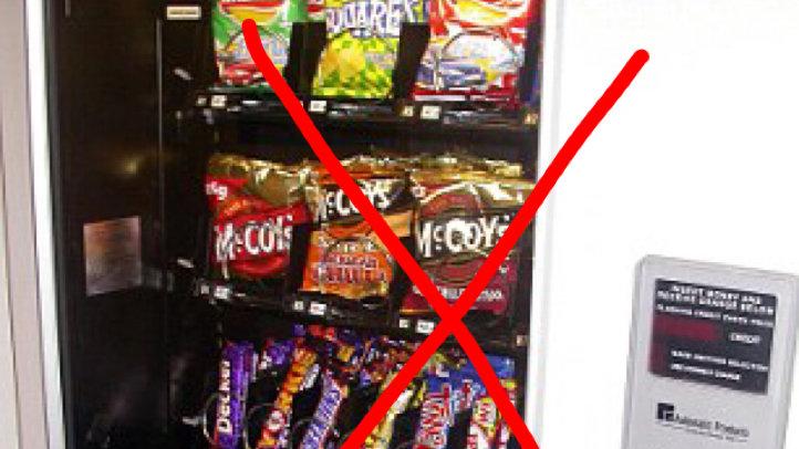Petition · University of Edinburgh: Make vending machines healthier