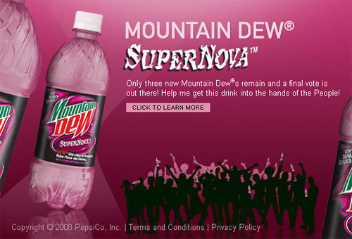 Petition · PepsiCo: Let's bring back Mountain Dew ...