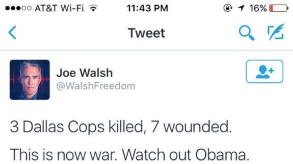 Petition · Illinois State House: We want Joe Walsh tried for treason