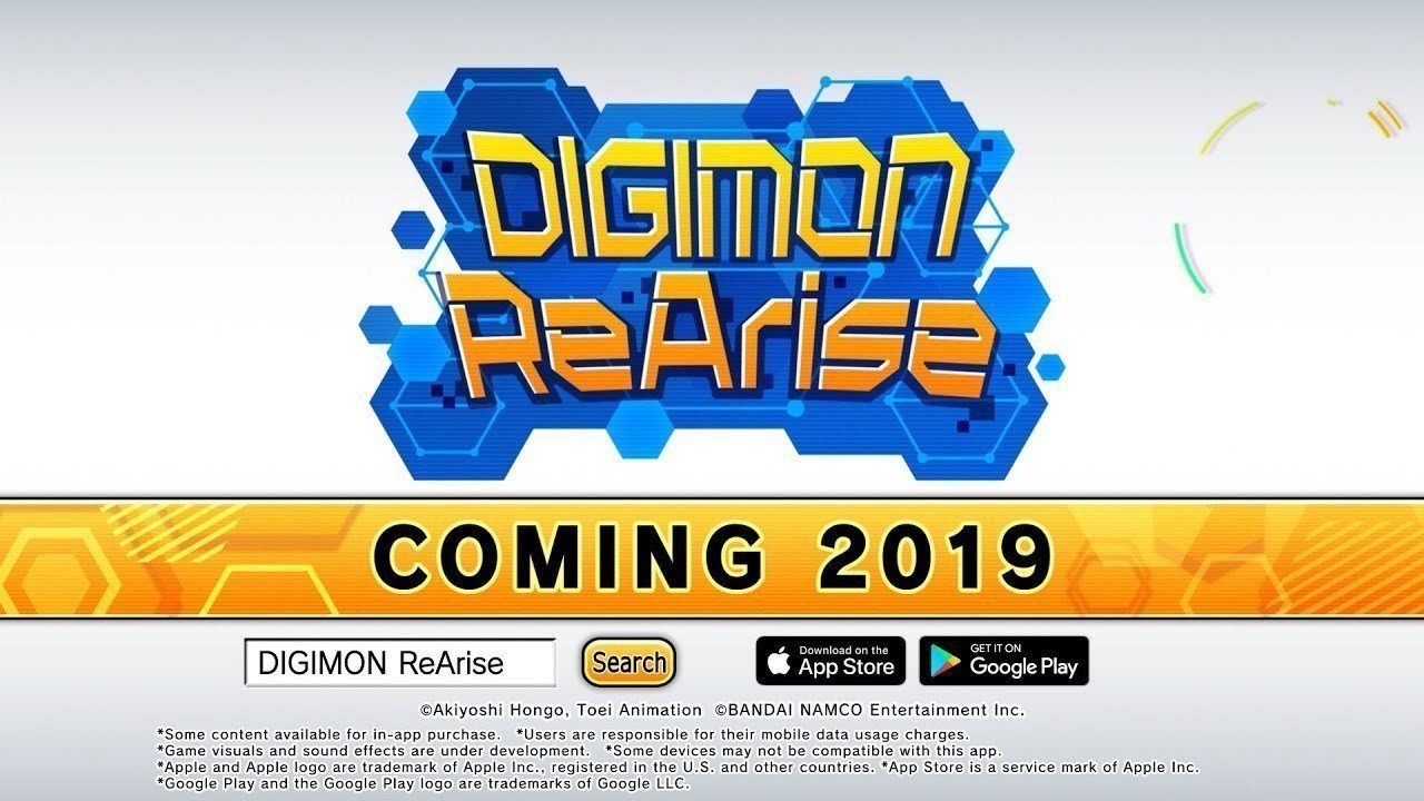 Petition update · Digimon ReArise coming this year on