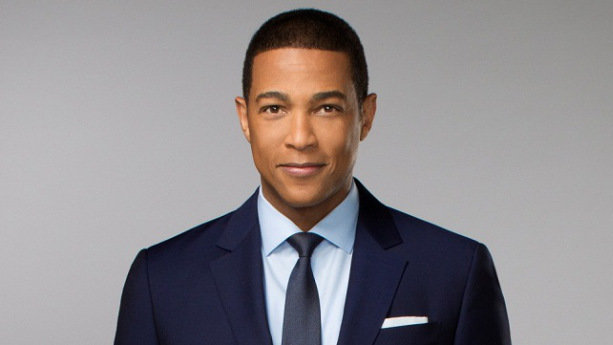 The 51-year old son of father (?) and mother(?), 168 cm tall Don Lemon in 2017 photo