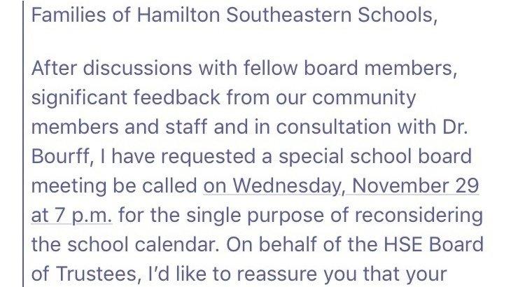 Petition Update Hse School Board Meeting Change Org