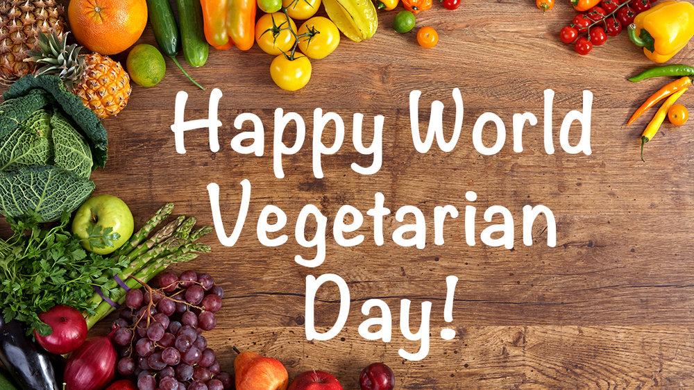 Днём вегетарианства