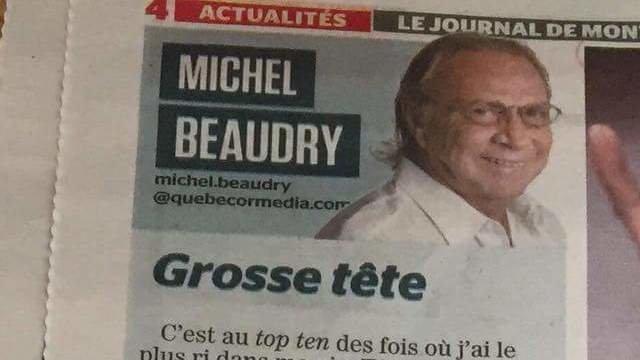 Pétition · Le renvoi de Michel Beaudry du Journal de ...