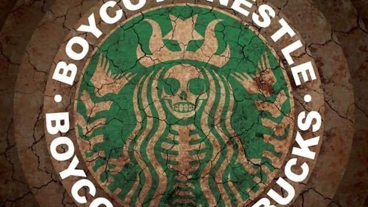 Petition · ONE MILLION PEOPLE TO BOYCOTT STARBUCKS FOR PARTNERING
