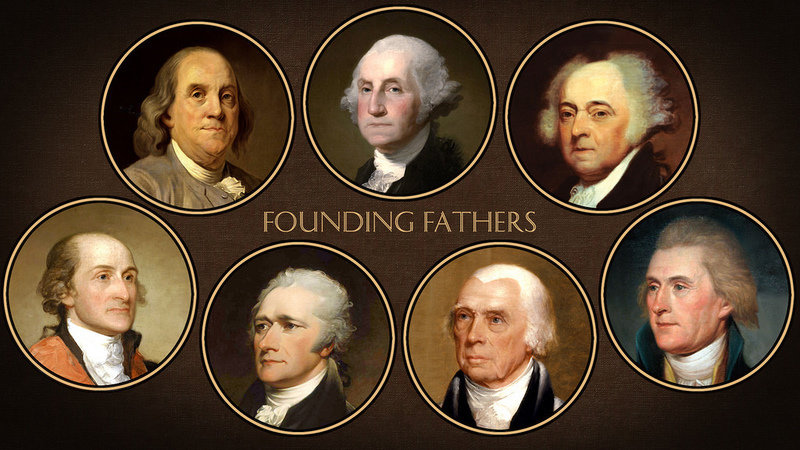 life of george washington as one of the founding fathers of the united states