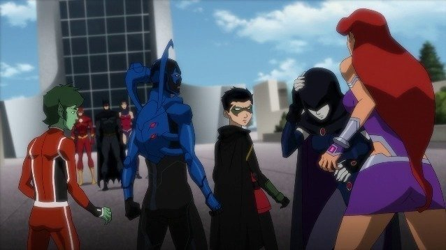 Petition Warner Brothers Justice League Vs Teen Titans Continue The New Titans Make Shows And Movies Etc Change Org