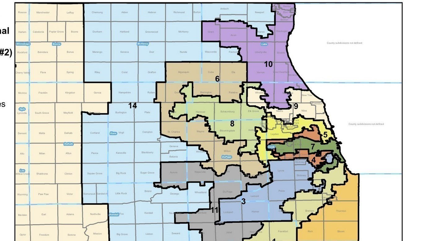 illinois 3rd congressional district - HD1382×778