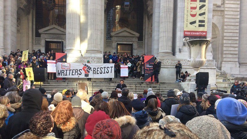 New York City Literary Action Coalition started this petition to Mayor of New York City Mayor Bill de Blasio