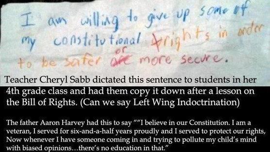 Duval County Florida School Board: Immediately Terminate Cedar Hills  Elementary School Teacher Cheryl Sabb