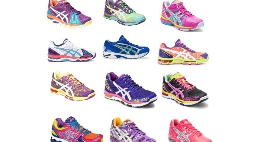 ASICS need to sell colourful netball