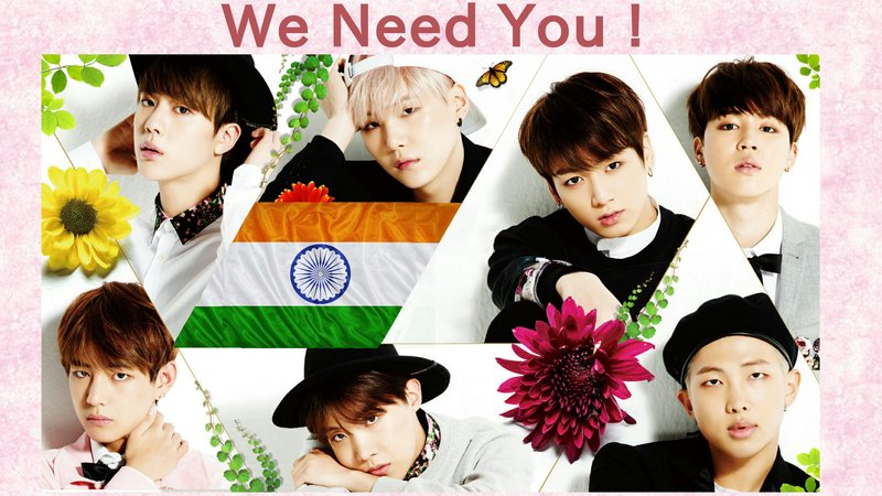 Petition · Petition for BTS Concert in India · Change org