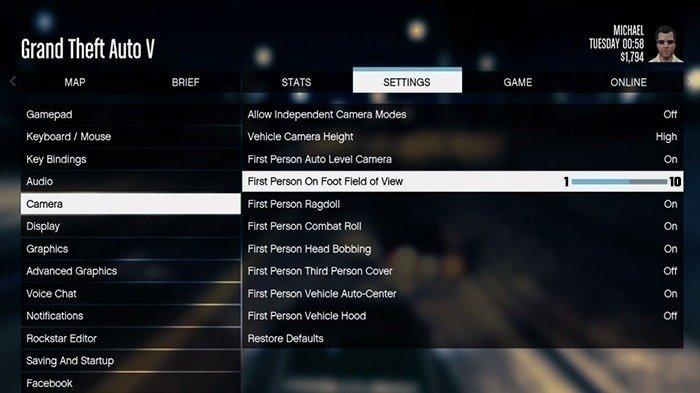 Petition Rockstar Games Allow A Higher Fov On Gta Online