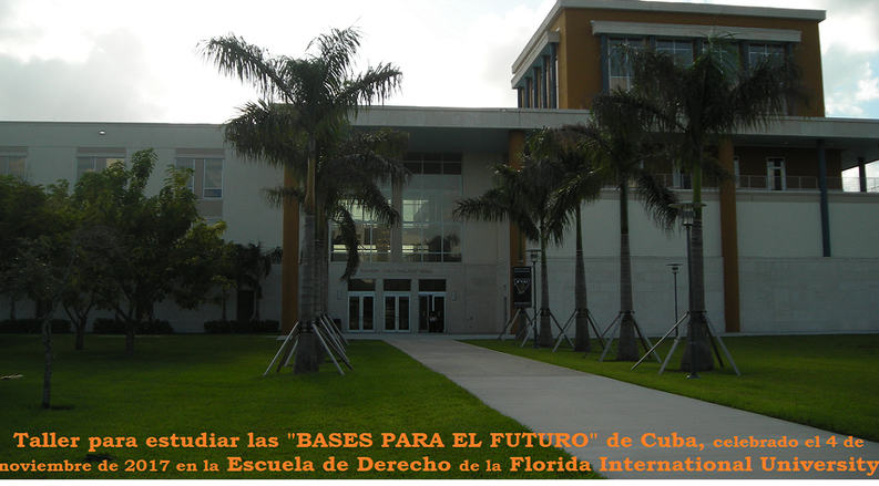 """Basis for the Future"" in Cuba submitted to the European Parliament and the Council of Europe asking for support"