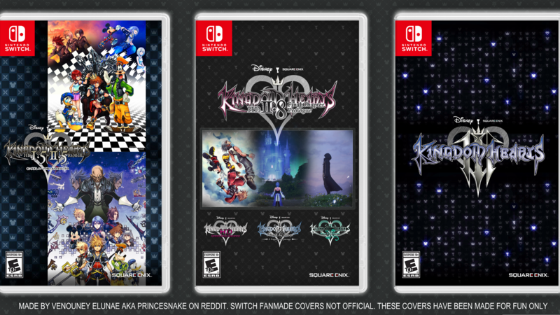 Petition · Get the Kingdom Hearts Collection on the Nintendo