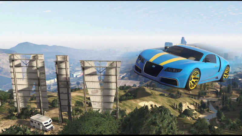 Petition · Add a Flying Cars Cheat to GTA V · Change org