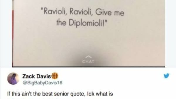 Petition · SENIOR QUOTES SHOULD NOT HAVE TO BE SAID BY ...