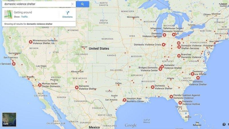 Peion · Google, Inc: Remove maps to secret domestic violence ... on