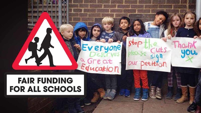 Image result for fair funding for all schools