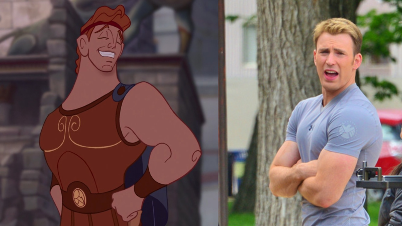 Petition Petition To Cast Chris Evans As Hercules In The