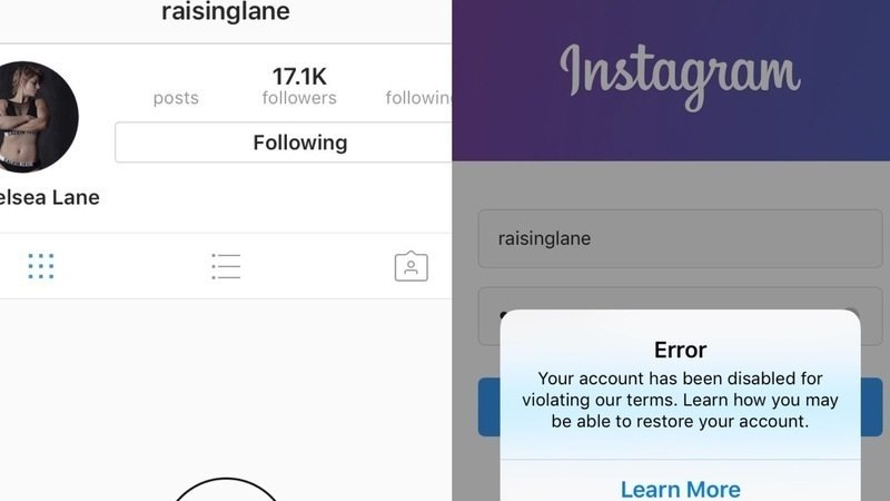 Petition · Instagram: Give RAISINGLANE her Instagram account back