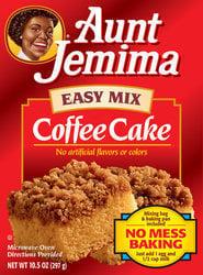 Aunt Jemima Coffee Cake Mix