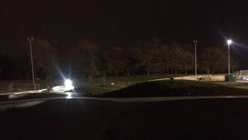 Lights For Crystal Palace Skatepark