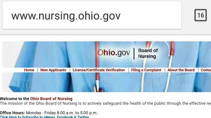 petition · state of ohio board of nursing : please join the nursing