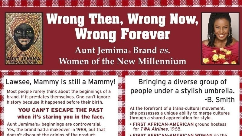 Petition · Set Her Free - Ask PepsiCo To Replace Aunt Jemima With B