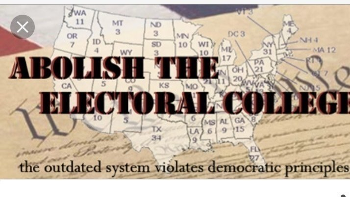 an argument in favor of abolishing the electoral college in the united states