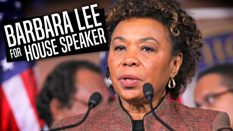 Petition · House Democrats: Make Barbara Lee Speaker of the House