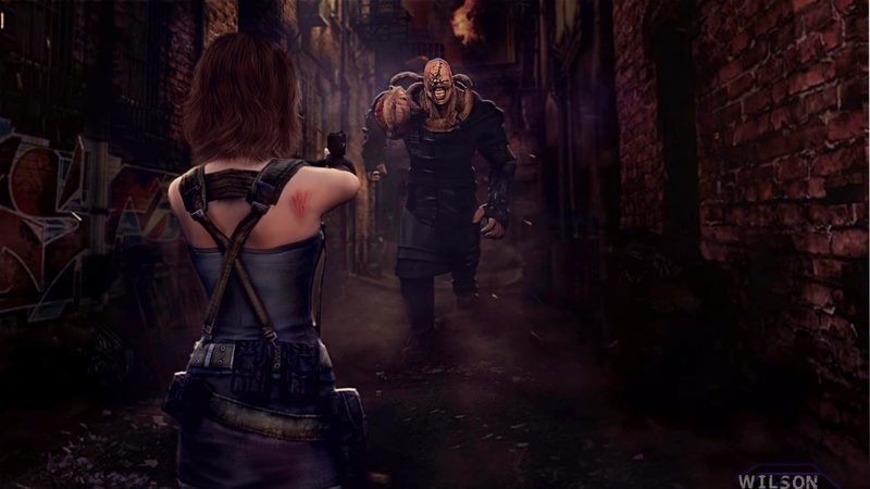Image result for resident evil 3 nemesis remake