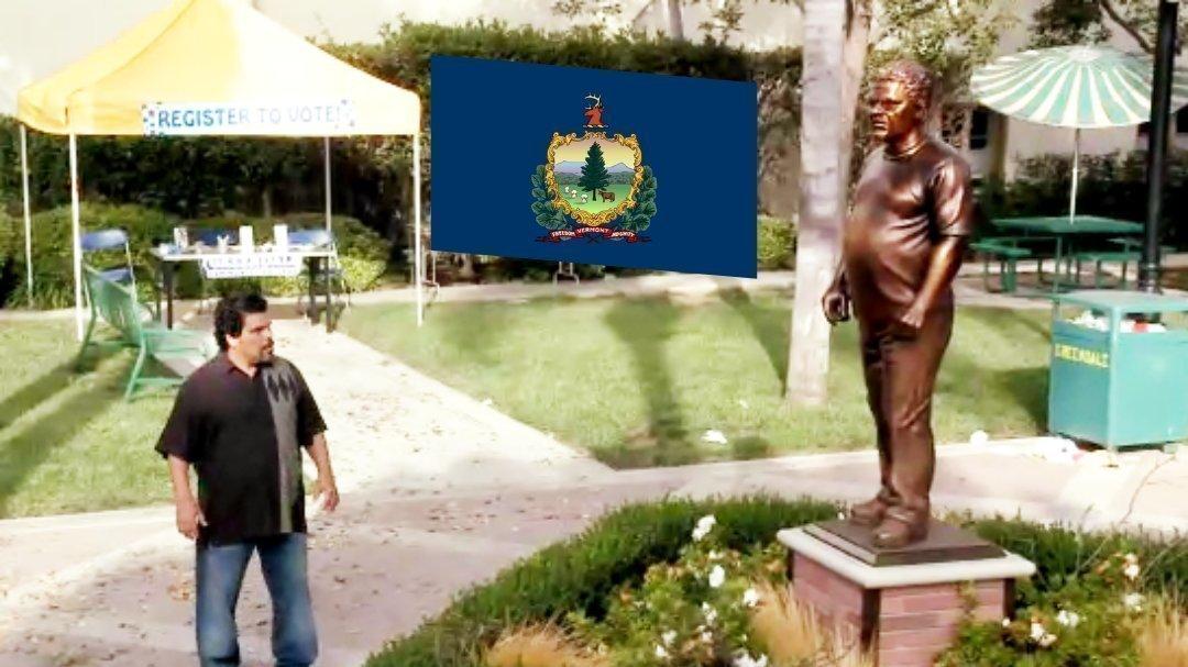 Luis Guzman Statue