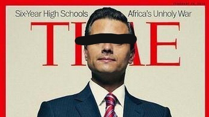 petition time magazine removal of the cover of mexican president
