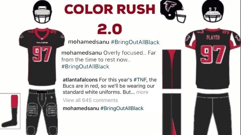 the latest 5ddae 96d39 Petition · Atlanta Falcons: Change the Falcons Color Rush ...