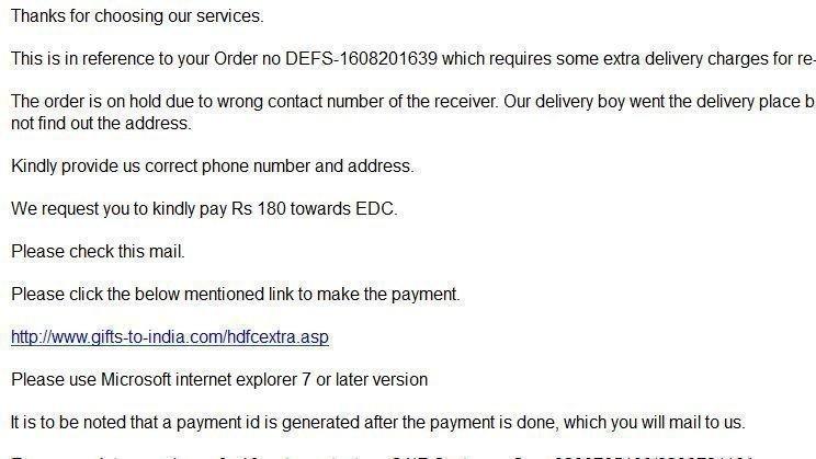 Petition · Online Buyer: Fraud Website: http://www