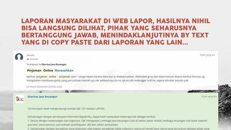 Petisi Tutup Pinjaman Online Legal Dan Ilegal Lingkaran Setan