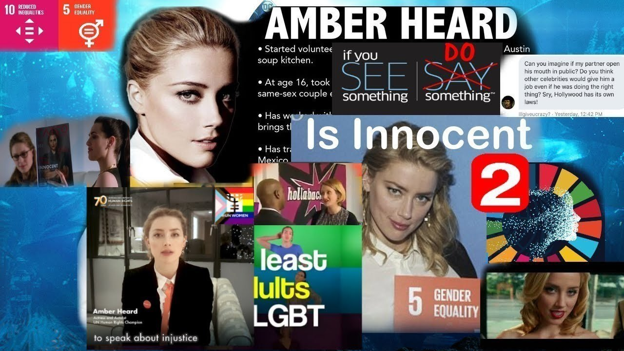 Petition update · UK Case Going Well: Amber Heard Was ...