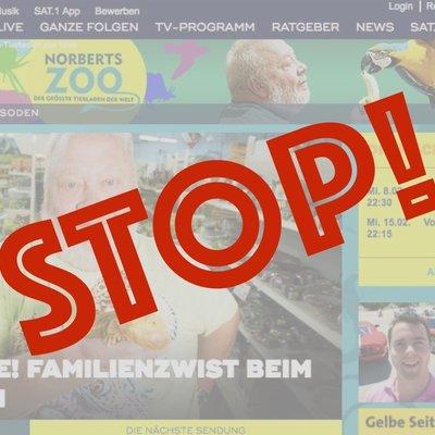 petition update danke fr ber 50000 unterschriften gegen norbertszoo sat1 changeorg - Sat 1 Bewerbung