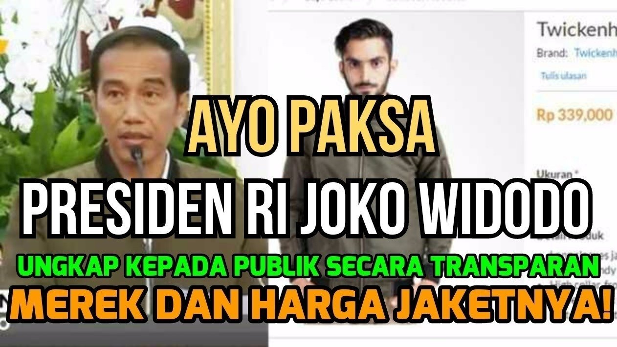 Petisi · joko widodo paksa jokowi ungkap secara transparan · change org