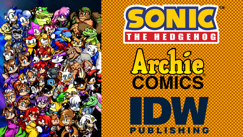 petition idw publishing add pre reboot archie sonic characters to
