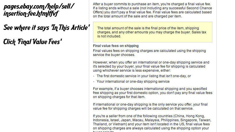 Petition Stop The Final Value Fee On Shipping Charge Change Org